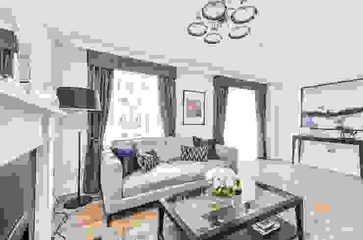 Sulivan Road, Hurlingham, SW6 Modern Living Room by APT Renovation Ltd Modern