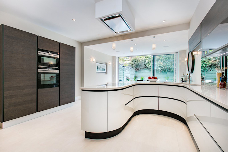 Perrymead Street, SW6 Modern Dining Room by APT Renovation Ltd Modern