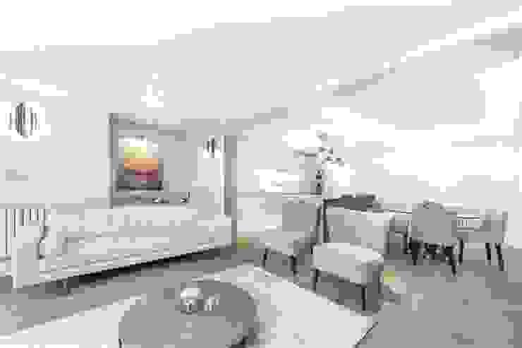 St. James's Terrace, St John's Wood, NW8 Modern Living Room by APT Renovation Ltd Modern