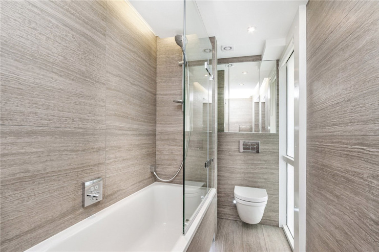 St. James's Terrace, St John's Wood, NW8 Modern bathroom by APT Renovation Ltd Modern