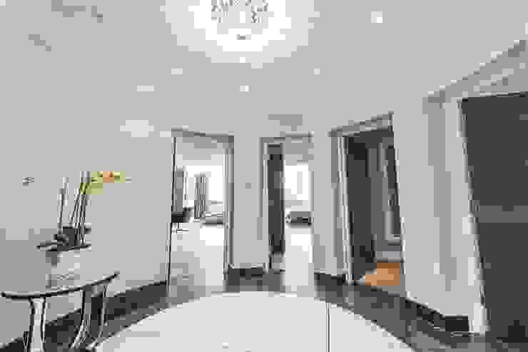 The Icon, Grosvenor Road, London, SW1V Modern Corridor, Hallway and Staircase by APT Renovation Ltd Modern