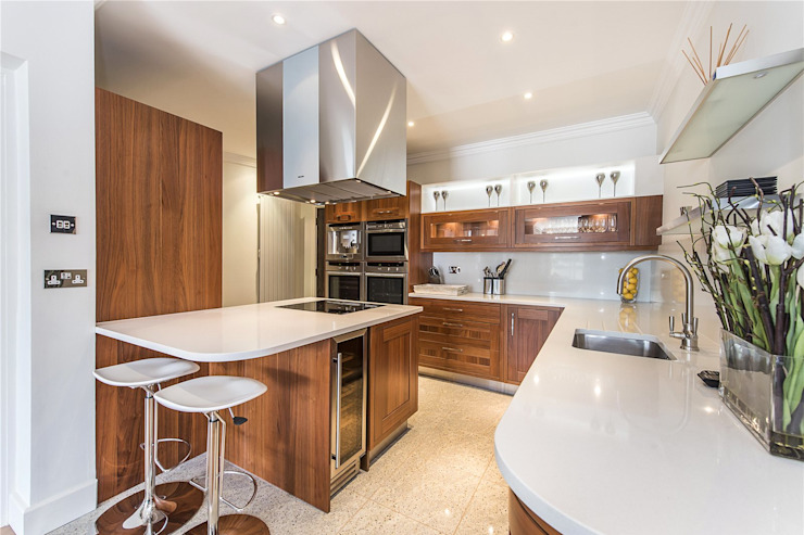 The Icon, Grosvenor Road, London, SW1V Modern kitchen by APT Renovation Ltd Modern