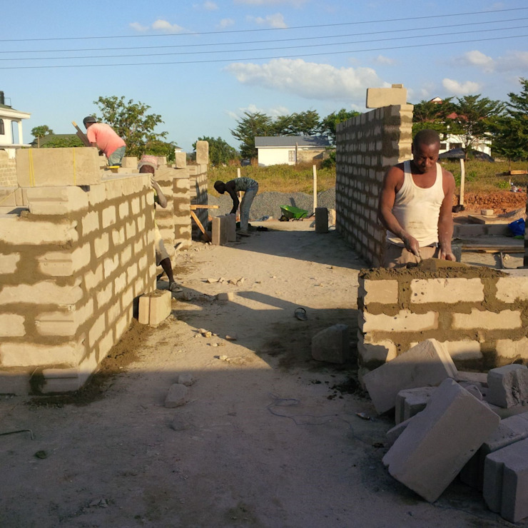 Building in progress by A4AC Architects