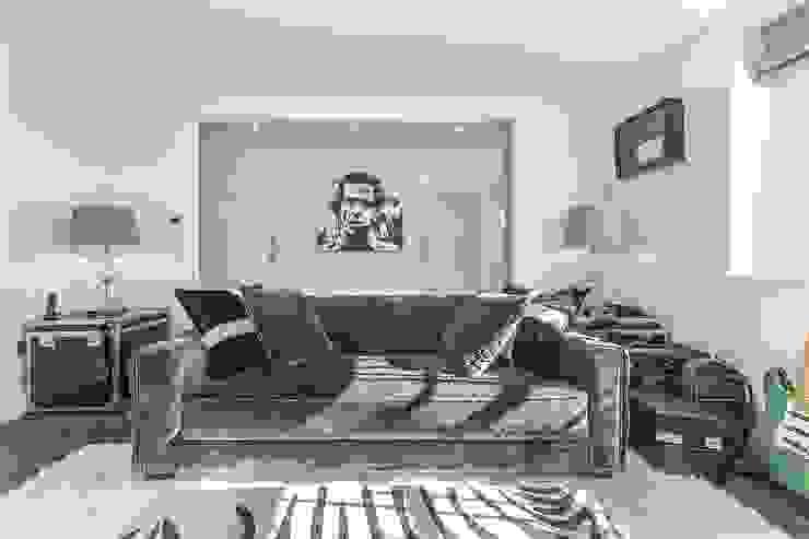 Victoria Square, London SW1W Modern Living Room by APT Renovation Ltd Modern