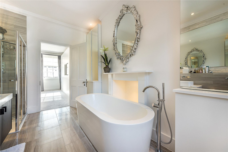 Victoria Square, London SW1W Modern Bathroom by APT Renovation Ltd Modern