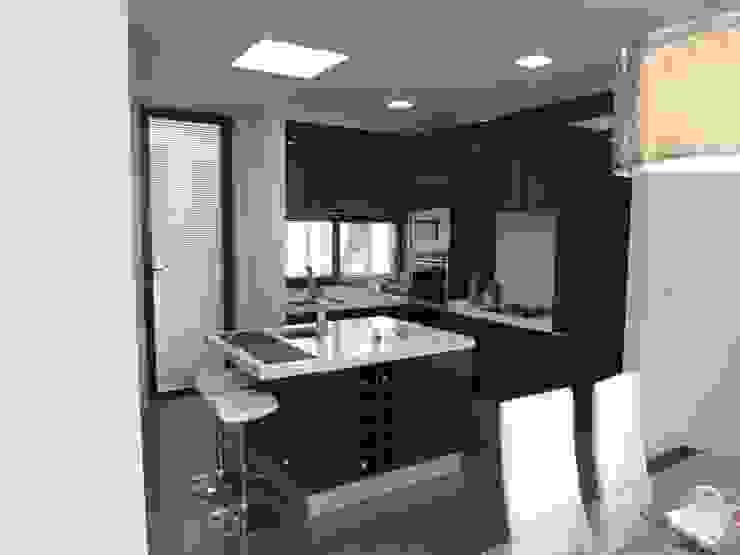 Moderne Küchen von Peritraço Arquitectura Modern