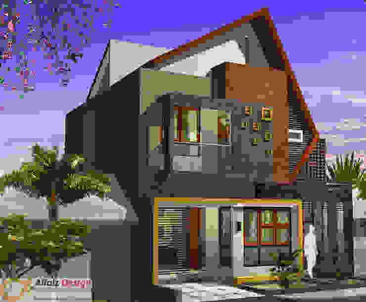 Rumah Jatiwaringin Rumah Tropis Oleh Alfaiz Design Tropis