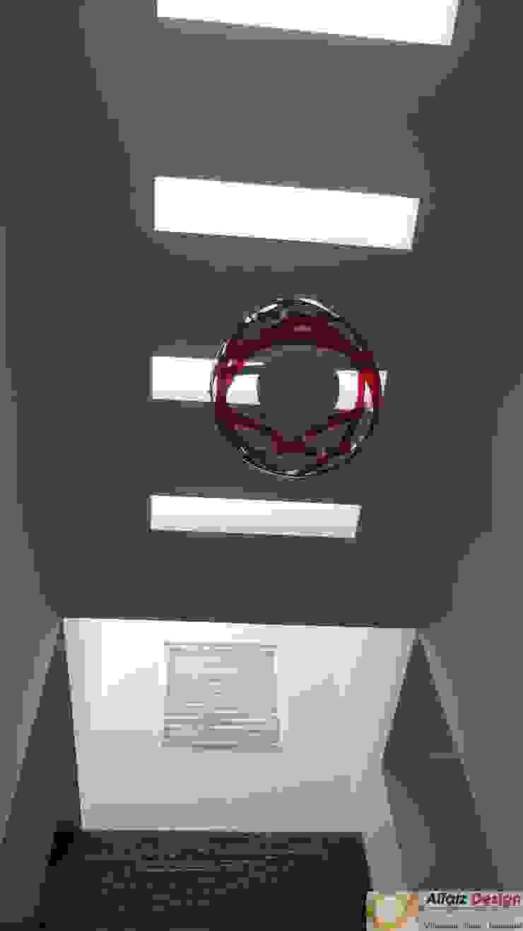 Rumah Jatiwaringin Koridor & Tangga Modern Oleh Alfaiz Design Modern