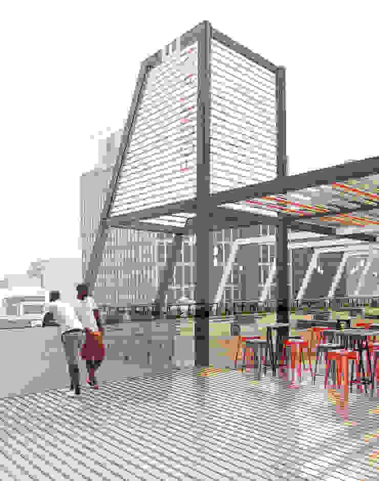 โดย A4AC Architects โมเดิร์น เหล็ก