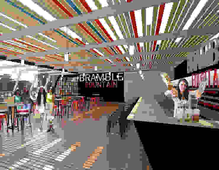 Bar area by A4AC Architects Modern