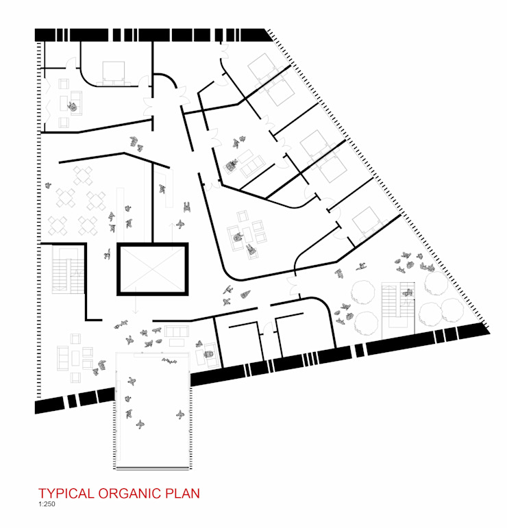 Plan A: modern  by A4AC Architects, Modern