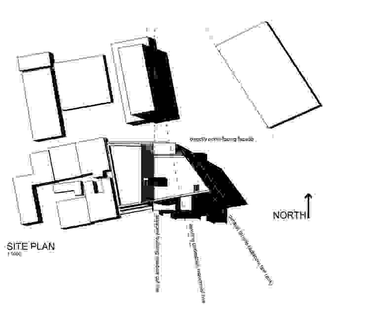 Site plan: modern  by A4AC Architects, Modern