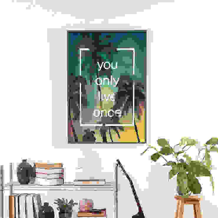 YOLO – 인테리어 그림 / 액자 by 주식회사 모모스케치 모던