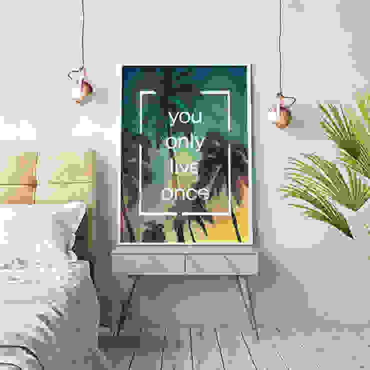 YOLO - 인테리어 그림 / 액자 by 주식회사 모모스케치 모던