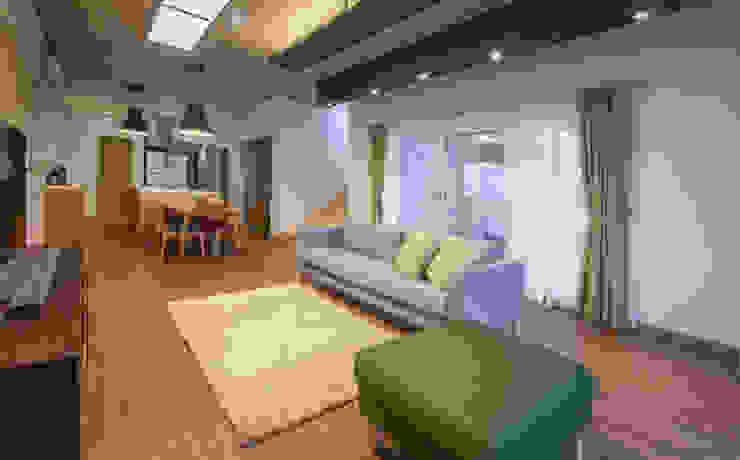 문봉동 세마당집(호호당) 모던스타일 거실 by 디자인 인사이트 (DESIGN INSITE) 모던