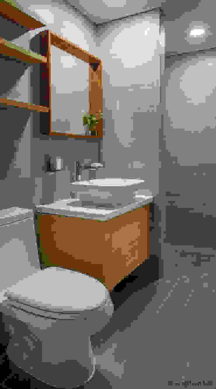 문봉동 세마당집(호호당) 모던스타일 욕실 by 디자인 인사이트 (DESIGN INSITE) 모던