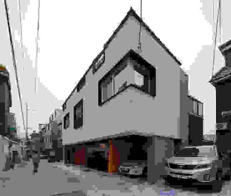 상수동 다가구주택 모던스타일 다이닝 룸 by 디자인 인사이트 (DESIGN INSITE) 모던