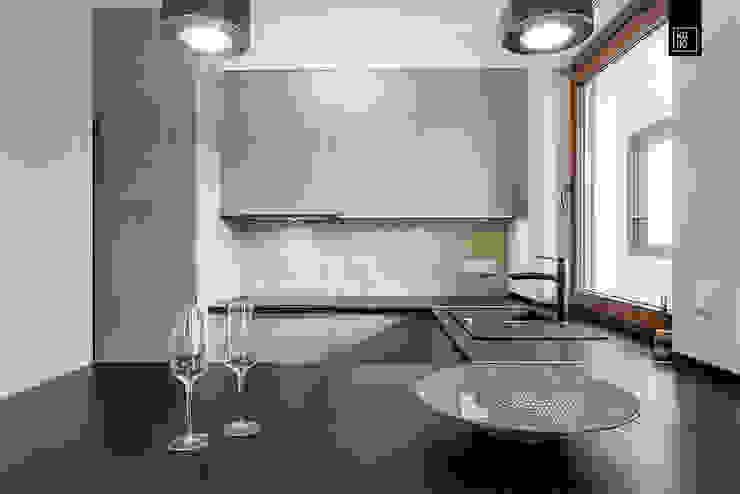 Cocinas de estilo  por KODO projekty i realizacje wnętrz,