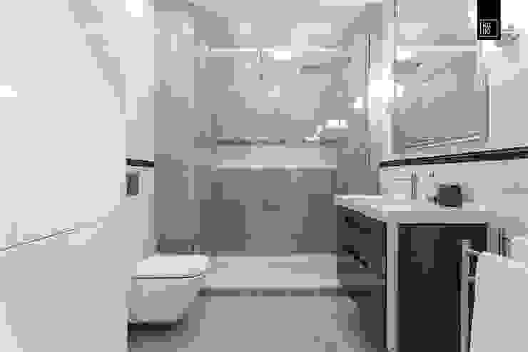 ELEGANCKA GRABISZYŃSKA KODO projekty i realizacje wnętrz Ванная в классическом стиле