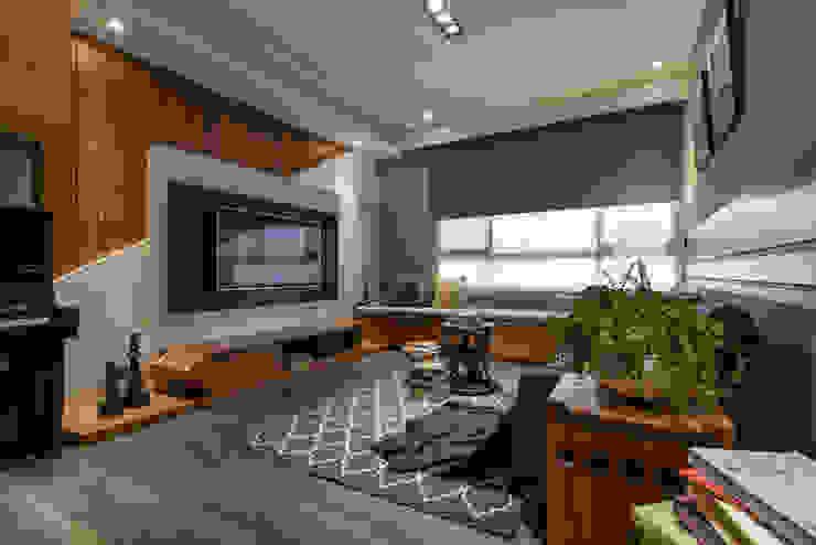 電視牆 存果空間設計有限公司 客廳
