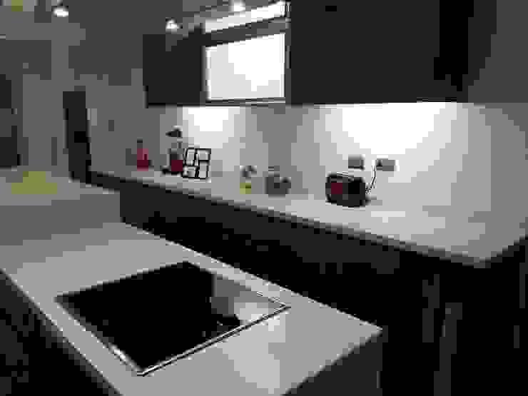 Proyecto Cocina Cocinas de estilo moderno de Muebles Menard Moderno