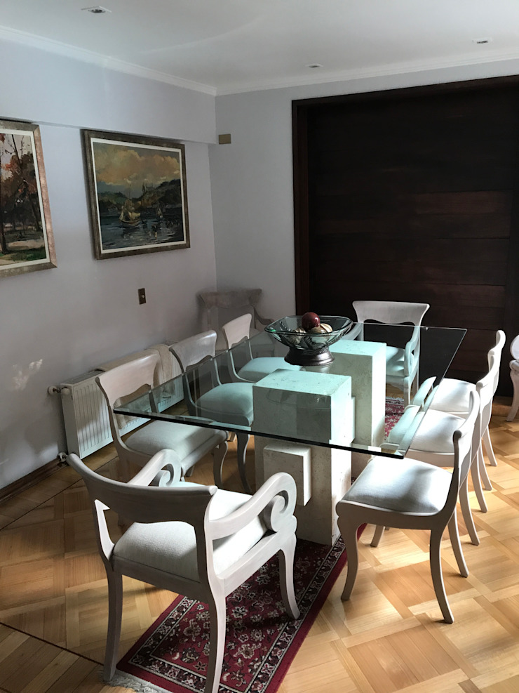 Proyecto Mesa, San Carlos de Apoquindo. Comedores de estilo moderno de Muebles Menard Moderno
