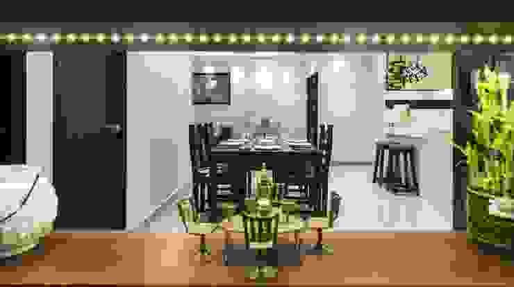 Comedores modernos de Nandita Manwani Moderno