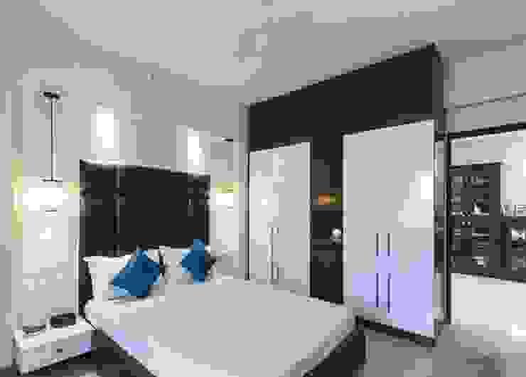 Dormitorios modernos: Ideas, imágenes y decoración de Nandita Manwani Moderno