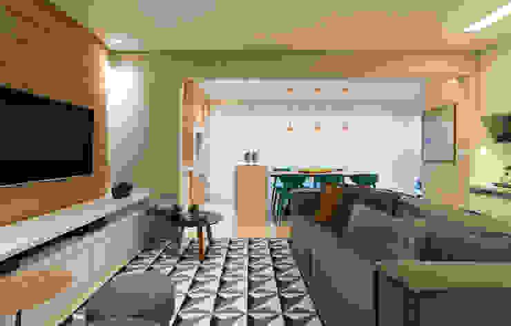 Danyela Corrêa Arquitetura Modern living room