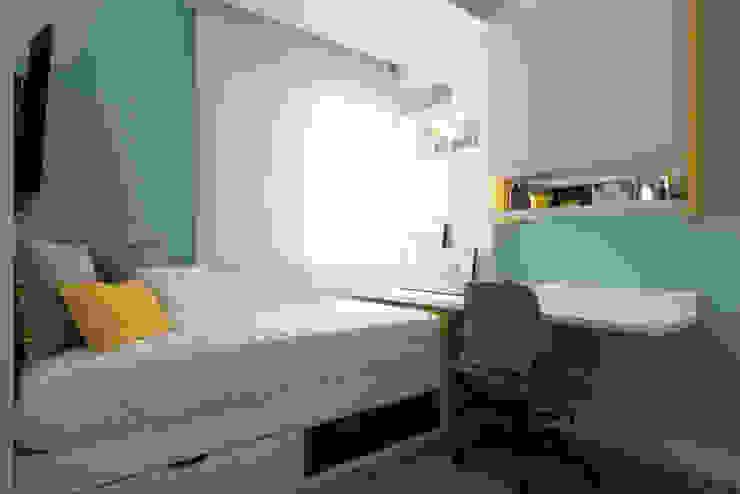 غرفة نوم تنفيذ Danyela Corrêa Arquitetura, حداثي