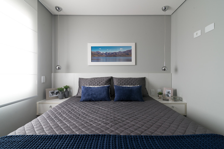 Kamar Tidur Modern Oleh Danyela Corrêa Arquitetura Modern