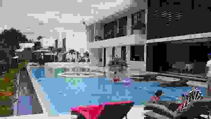 """Casa Campestre Condominio """"El Peñon"""" Girardot / Tel: 3125831655 Casas de estilo minimalista de Construcciones Cubicar S.A.S Minimalista"""