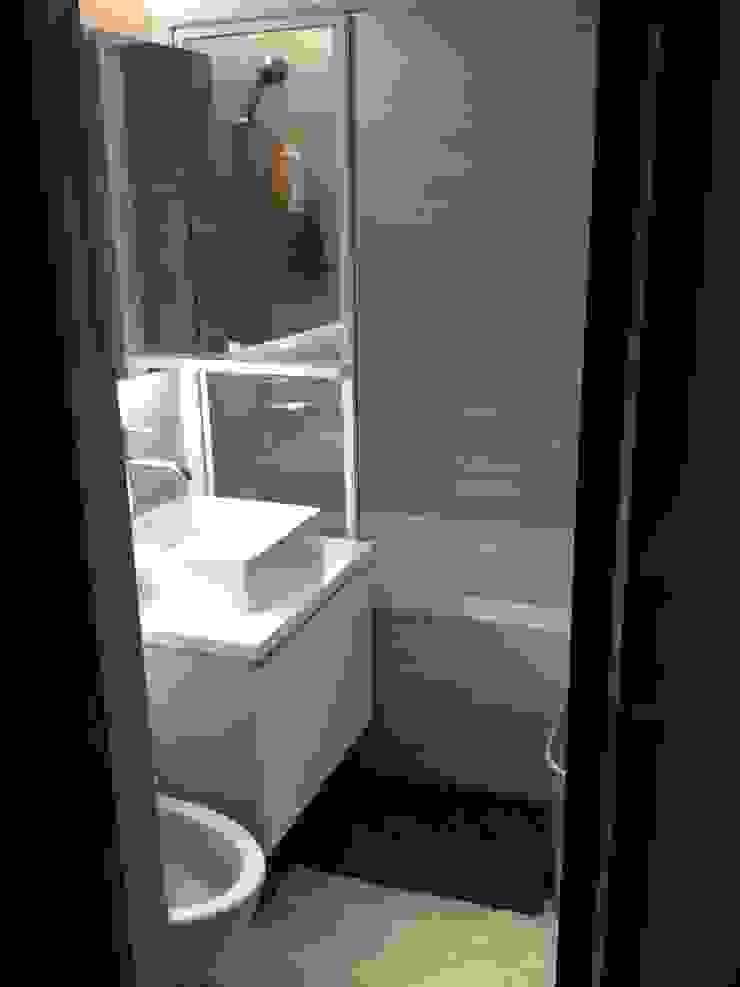 藝術品展示宅 13坪充分展現藝術品味 捷士空間設計(省錢裝潢) 浴室