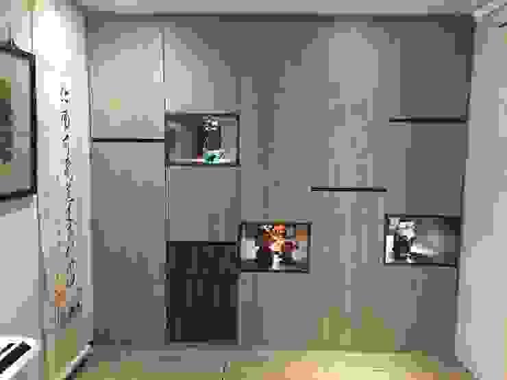 藝術品展示宅 13坪充分展現藝術品味 捷士空間設計(省錢裝潢) 書房/辦公室