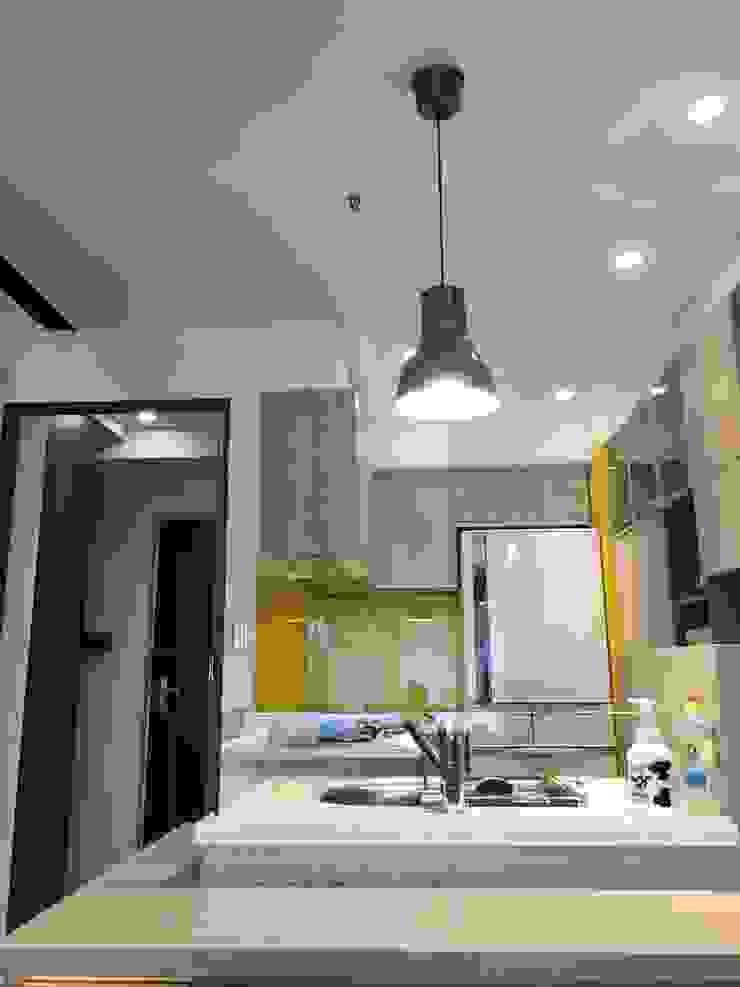 藝術品展示宅 13坪充分展現藝術品味 捷士空間設計(省錢裝潢) 廚房