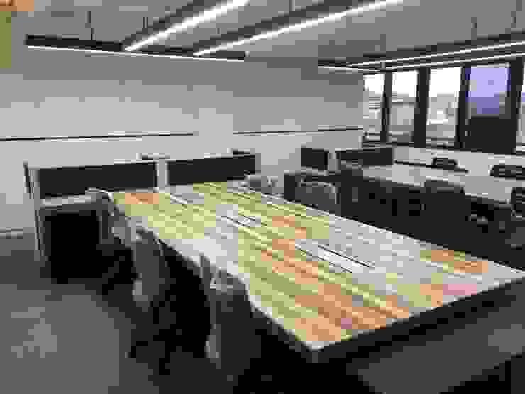 兼具舒適與美觀的辦公空間 根據 捷士空間設計(省錢裝潢) 現代風