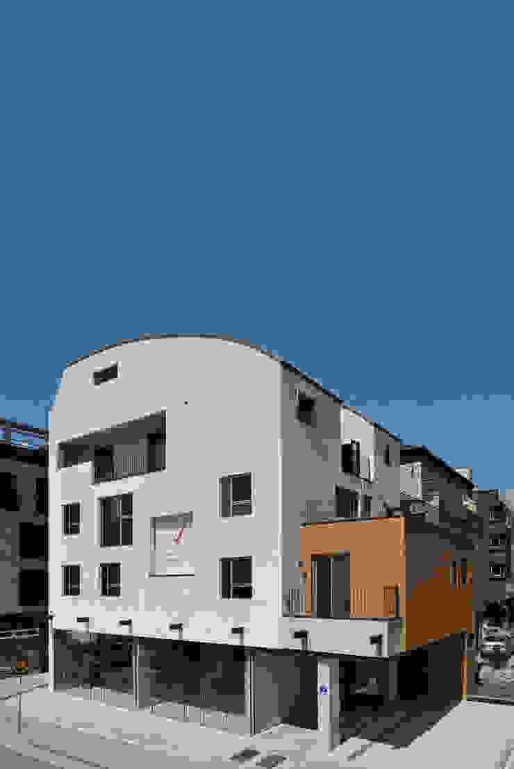 남서측 전경 모던스타일 주택 by (주)건축사사무소 모도건축 모던