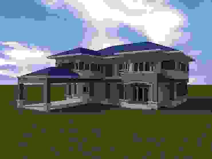 de รับเขียนแบบ ออกแบบบ้าน ภาพ3D