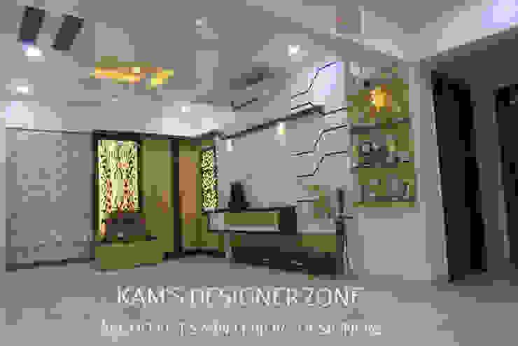 Home Interior Design for PREETI AGARWAL Modern walls & floors by KAM'S DESIGNER ZONE Modern