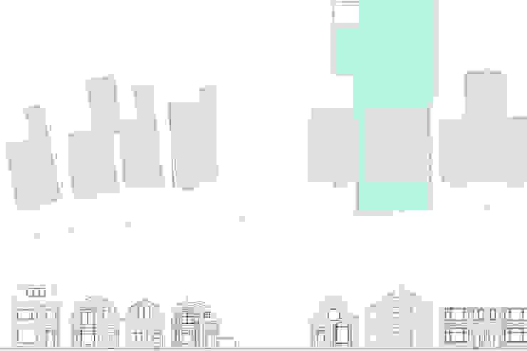 situatie Moderne huizen van Studio Blanca Modern