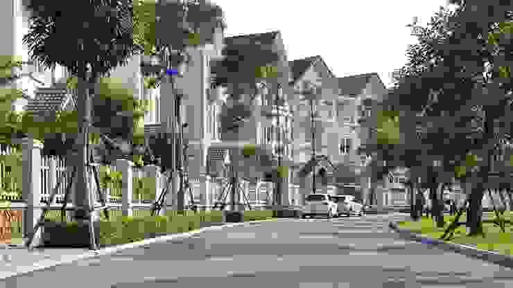 Vinhomes Riverside Hà Nội bởi ACT Architects (VN) Ltd. Nhiệt đới