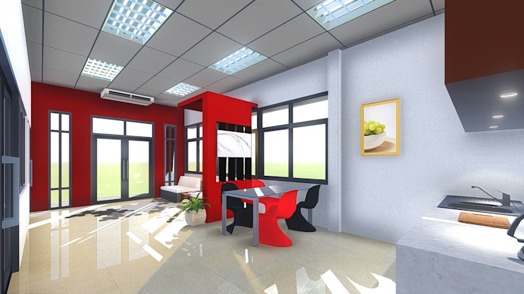 ผลงานออกแบบ โดย O Rose design studio