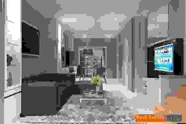 บ้านเดี่ยวโครงการ เดอะ แพลนท์ โดย Mano design