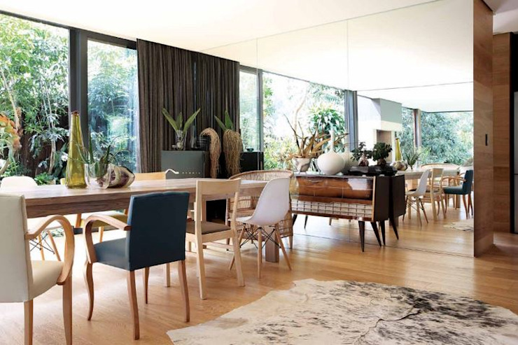 House Cowies Hill Modern dining room by Ferguson Architects Modern