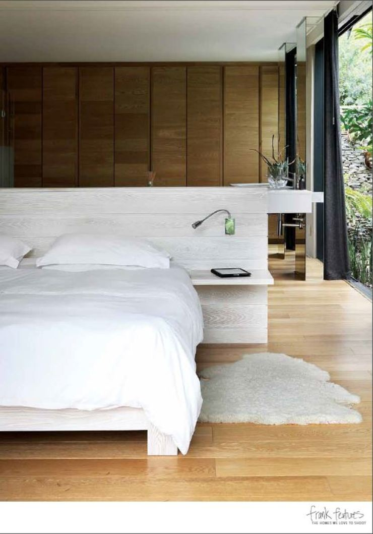House Cowies Hill Modern style bedroom by Ferguson Architects Modern