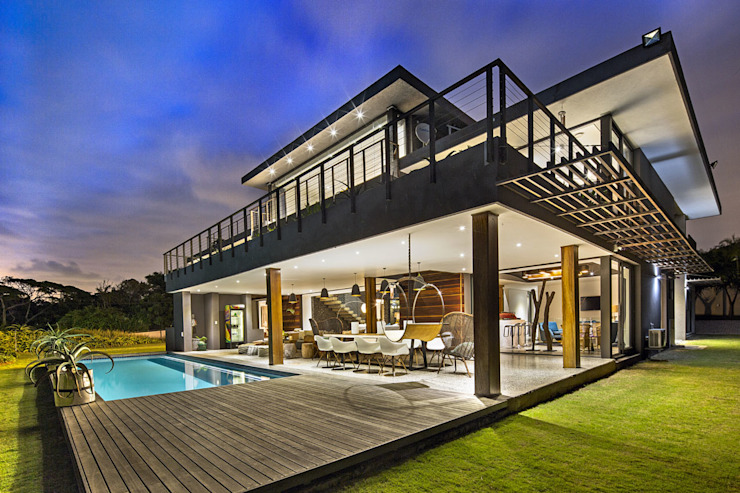 House Umhlanga Modern houses by Ferguson Architects Modern