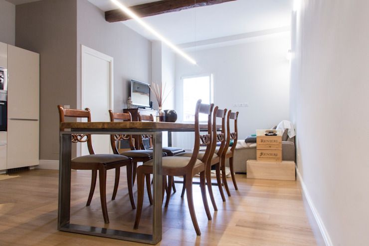 Salle à manger méditerranéenne par quadrato | studio di architettura Méditerranéen