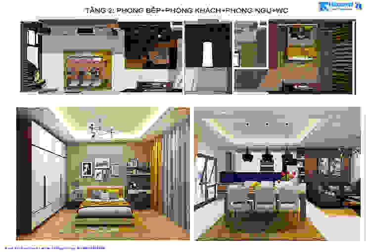 โดย Văn phòng kiến trúc Ktshanoi