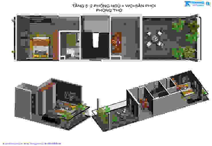 by Văn phòng kiến trúc Ktshanoi,
