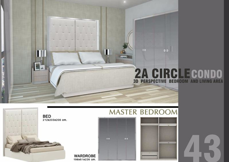 CIRCLE 2 (STYLE LUXURY) โดย Future Interior Design Co.,Ltd. ผสมผสาน